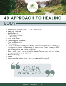 4D Approach to Healing_BODY